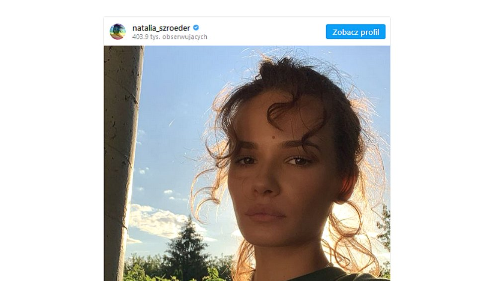 """Natalia Szroeder na nowym zdjęciu. Fanka: """"Ale żyły"""""""