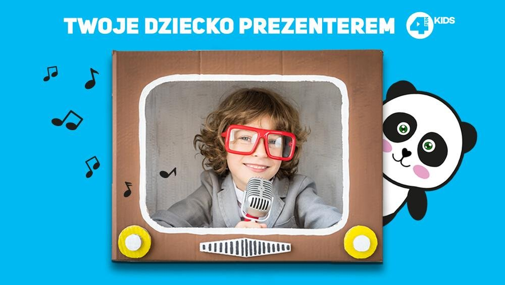 MAŁY PREZENTER 4FUN KIDS!
