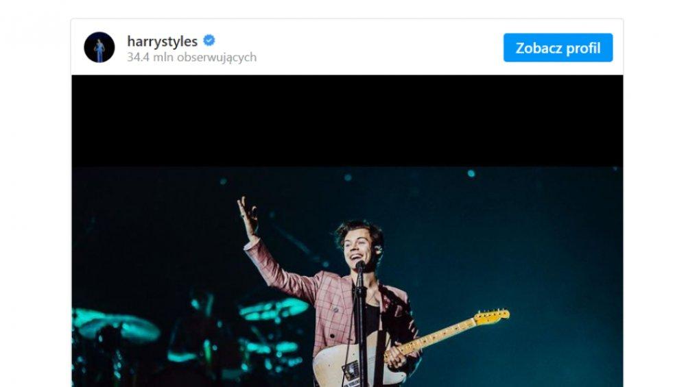 Harry Styles znowu przekłada Love On Tour! Co z koncertem w Polsce?