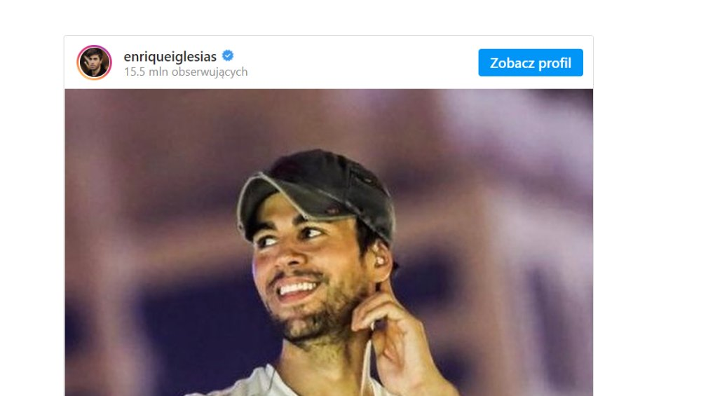 Enrique Iglesias: koncert w Polsce 2021! [DATA, MIEJSCE, BILETY]