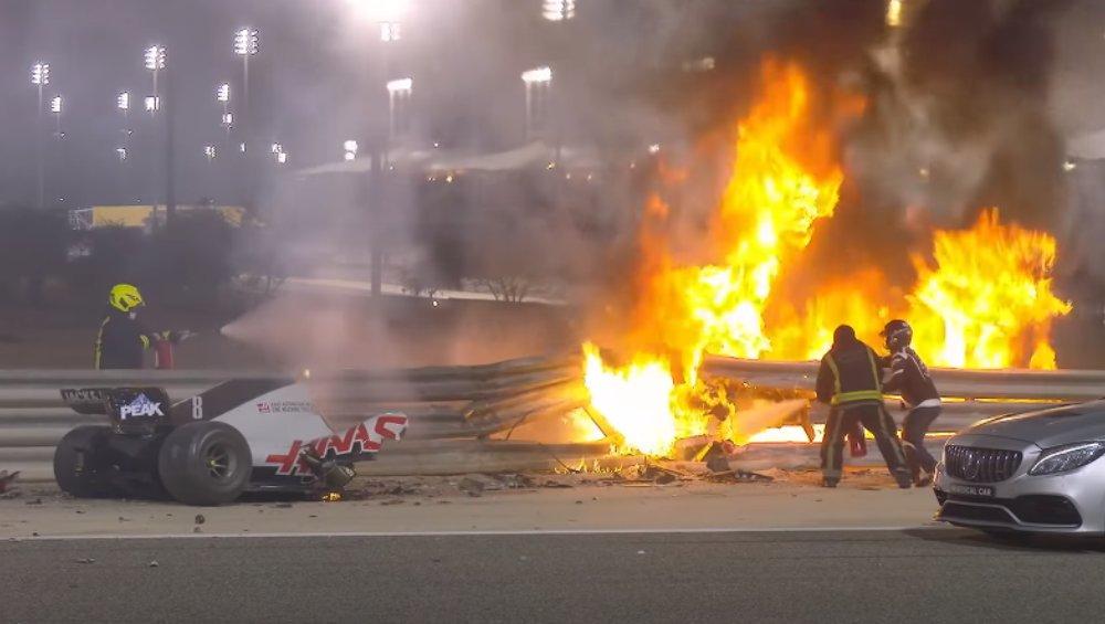 Dramatyczny wypadek podczas wyścigu F1. Auto rozpadło się na pół [WIDEO]