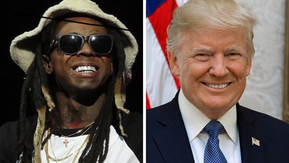 Lil Wayne ułaskawiony przez Donalda Trumpa! Groziło mu 10 lat więzienia