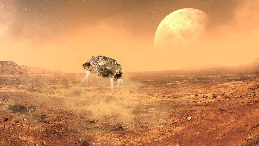 Stolica na Marsie – tak ma wyglądać pierwsze miasto na planecie! [WIDEO]