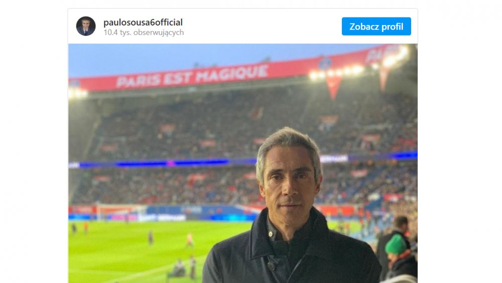 Paulo Sousa – oto nowy trener reprezentacji Polski w piłce nożnej!