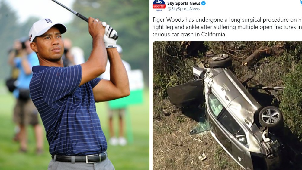 Tiger Woods – wypadek. Co było przyczyną? Są nowe informacje