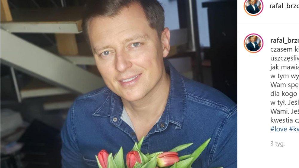 Rafał Brzozowski rozstał się z narzeczoną. Wydał oświadczenie