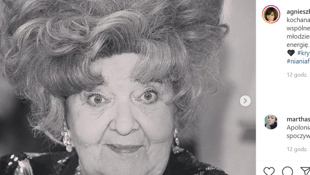 'Babcia Niani Frani' nie żyje. Krystyna Rutkowska-Ulewicz miała 87 lat