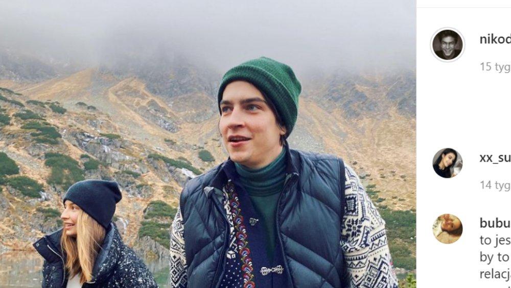 """Julia Wieniawa i Nikodem Rozbicki całują się w górach. """"Nosalove"""""""