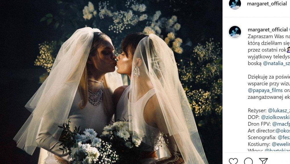 Margaret i Natalia Szroeder w sukniach ślubnych! 'Z Małżonką przedstawiamy SOLD OUT'