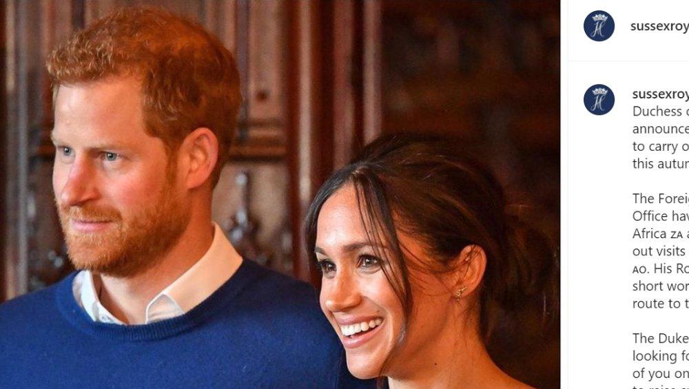 Meghan i Harry: płeć drugiego dziecka już znana!