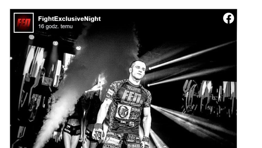Zawodnik MMA nie żyje. Patryk Nowak miał 31 lat