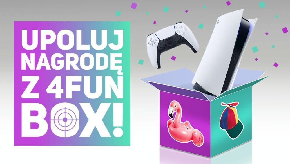 4FUN BOX wypełniony nagrodami! Oglądaj 4FUN.TV i zgarnij PlayStation 5!