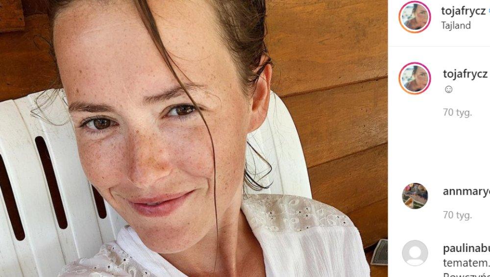 Olga Frycz jest w ciąży. Aktorka ujawniła imię drugiego dziecka