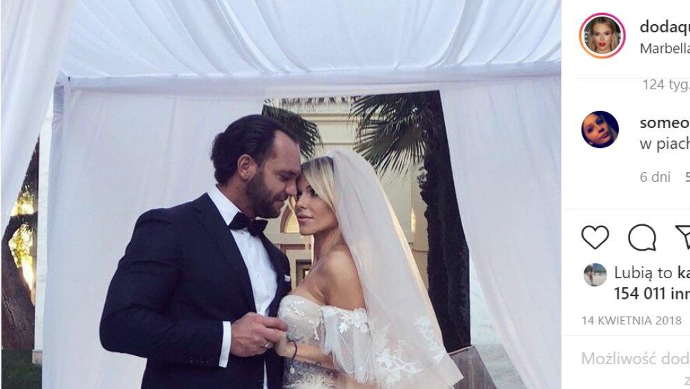 Doda usunęła teledysk ślubny z sieci. Bił rekordy popularności