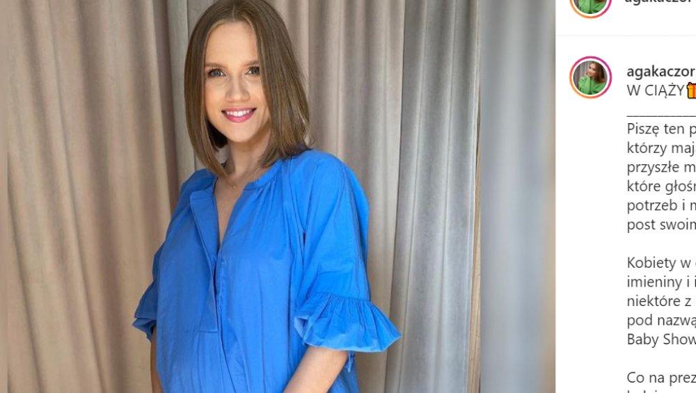 Agnieszka Kaczorowska urodziła! Pokazała zdjęcia drugiego dziecka