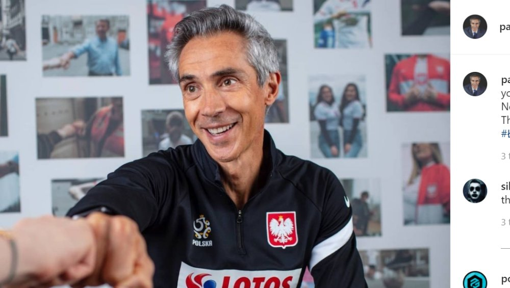 EURO 2020: trener Polski Paulo Sousa doceniony! Nie uwierzycie za co