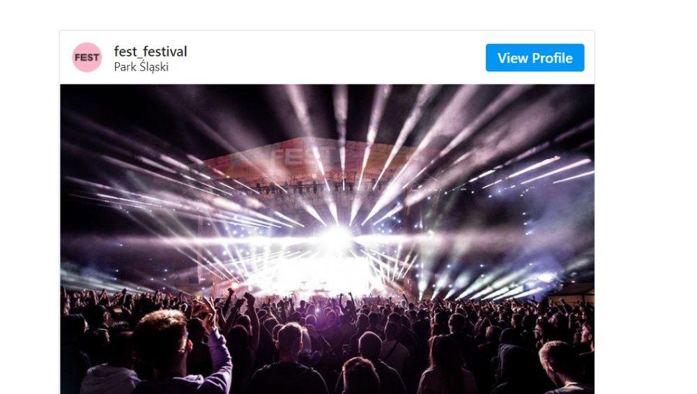 Fest Festival 2021 'wyłącznie dla osób zaszczepionych'. Jest oświadczenie
