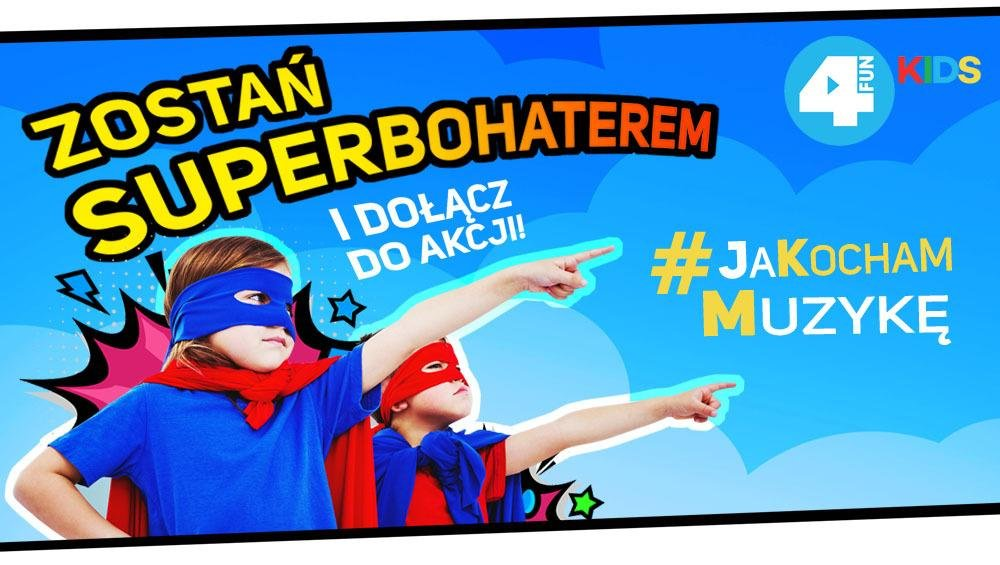 ZOSTAŃ SUPERBOHATEREM i wesprzyj dzieci głuche i niedosłyszące!