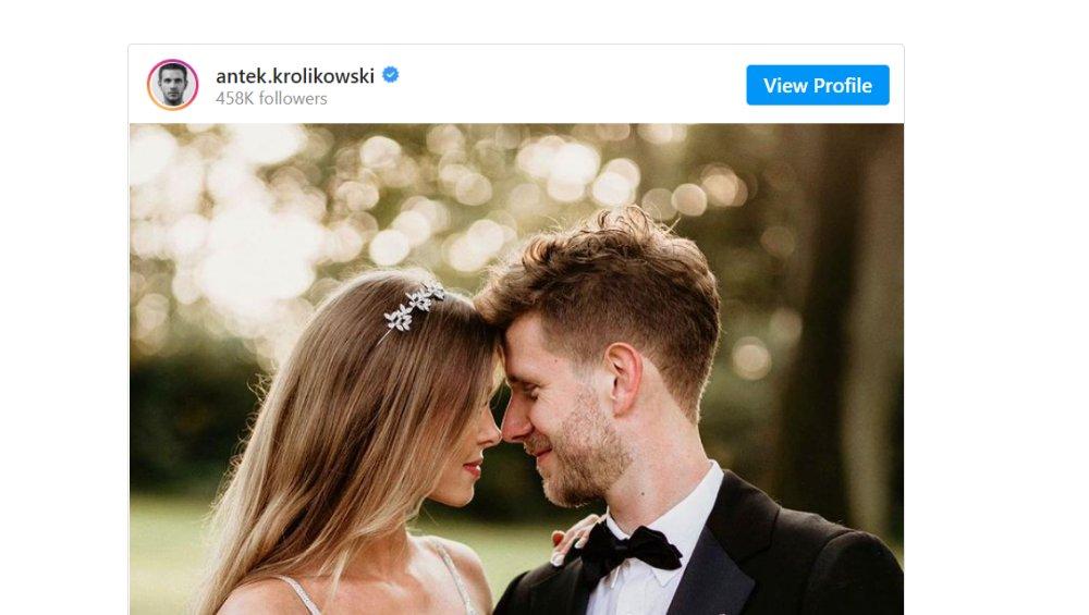 Joanna Opozda i Antek Królikowski są już małżeństwem. Ile kosztowały suknie ślubne i jak wyglądało wesele?