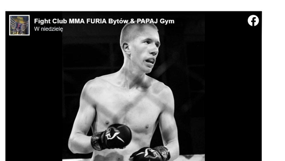 Polski zawodnik MMA nie żyje. Zginął tragicznie