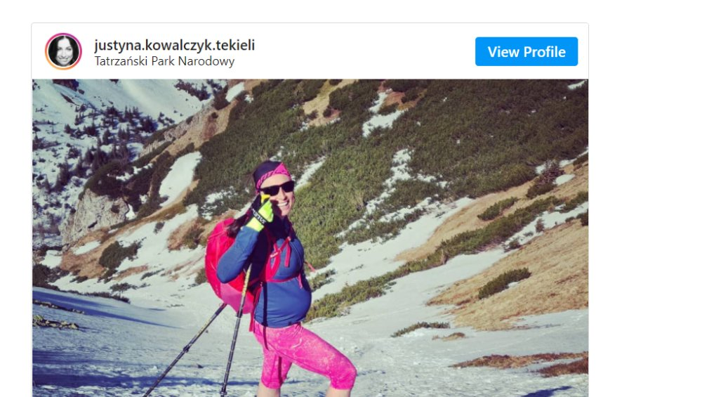 Justyna Kowalczyk urodziła! Jak ma na imię dziecko sportsmenki?
