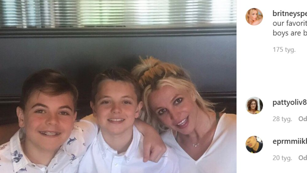 Britney Spears: synowie gwiazdy mają już 15 i 16 lat! Tak wyglądają Sean i Jayden