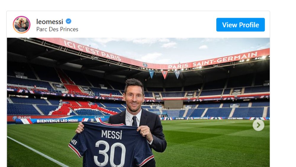 Leo Messi w PSG przywitany polską piosenką! [WIDEO]
