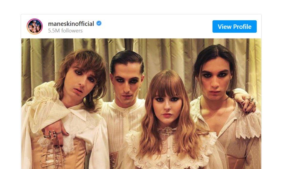 Maneskin nago na Instagramie. Tak promują nową piosenkę?