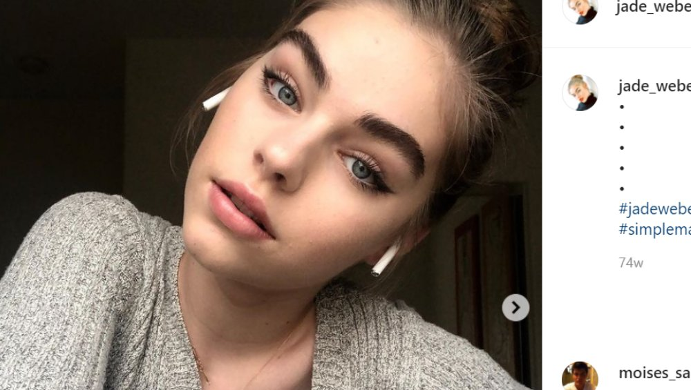 Jade Weber ma najpiękniejszą twarz na świecie? 16-latka zachwyca