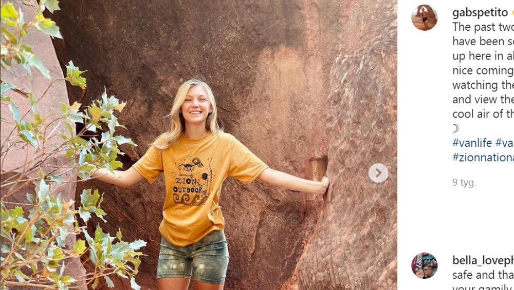 Gabby Petito – 22-letnia blogerka zaginęła w podróży życia po USA. Znaleziono ciało, jej chłopak się ukrywa