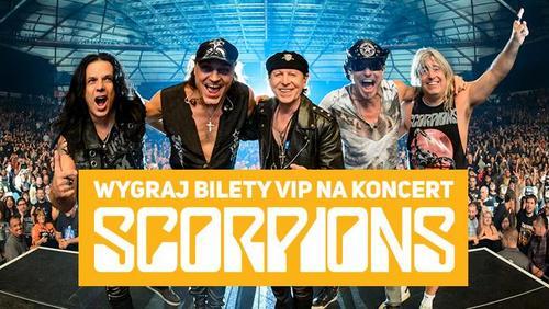 Wygraj bilety Vip na koncert Scorpions!